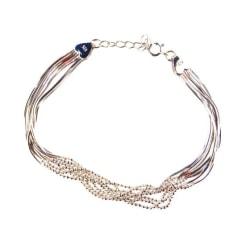 Friman Äkta Silver armband 925 17-19cm - SA7 Silver
