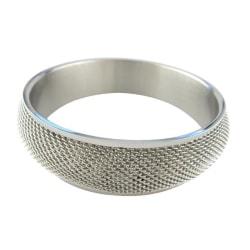 Friman Stålarmband Fast 68mm Silvergrå