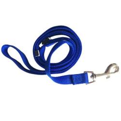 Hundkoppel 20mm 100-180cm Blå M