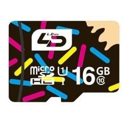 Minneskort LD 16GB SDHC kort Class 10