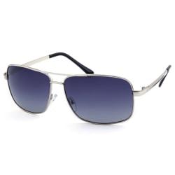 Solglasögon Man Polariserad Silver | Ink Fodral Svart