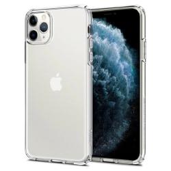 2x iPhone 11 Pro Max Skal - Transparent 6.5 tum Transparent