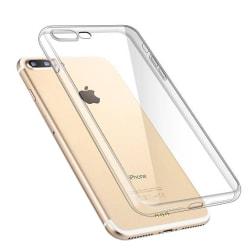 2x Transparent Skal till iPhone 8 / iPhone 7 Plus Transparent