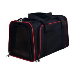Expanderbar transportväska för djur Svart