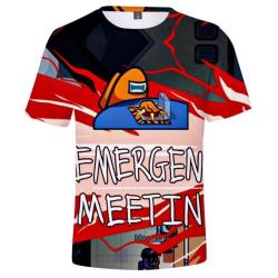 Bland oss, T-shirt för barn, möte - storlek 140 MultiColor 140