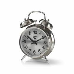 Analog väckarklocka, Metall Metall utseende