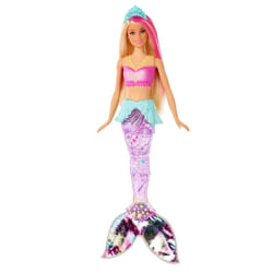 Barbie, Dreamtopia Sparkle Lights Mermaid multifärg