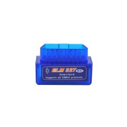 Bluetooth Felkodsläsare OBD2 ELM327 Bildiagnostik Blå