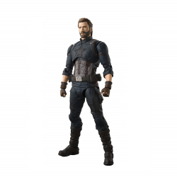 Avengers Infinity War - Captain America Actionfigur multifärg