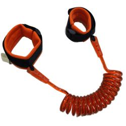 Elastiskt Barnkoppel (fästs vid handled) 2m - Orange Orange