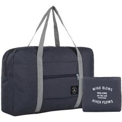 Vikbar Väska - Mörkblå Mörkblå