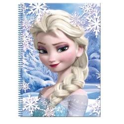 Frozen / Frost, A4 Rutat block, 80 blad - Elsa multifärg