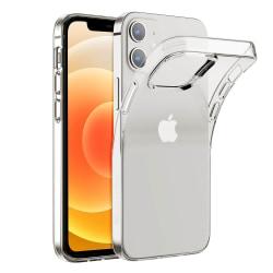 iPhone 12 Mini Skal - Transparent 5.4 tum Transparent