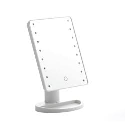 Justerbar Sminkspegel med LED Vit