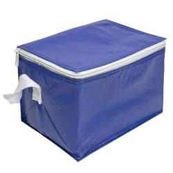 Klassisk Kylväska för 6-pack Burkar Blå