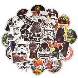 Klistermärken, 50 pack - Star Wars multifärg