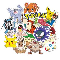 Klistermärken, 80 pack - Pokémon multifärg
