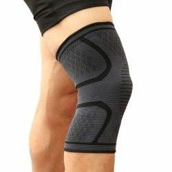 Knästöd med kompression för träning/löpning - M Grey M