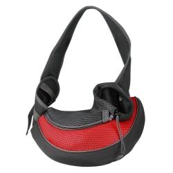 Liten Transportväska för Husdjur - Röd Röd