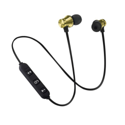 M10 Sport, Trådlöst In-Ear Headset - Guld Guld