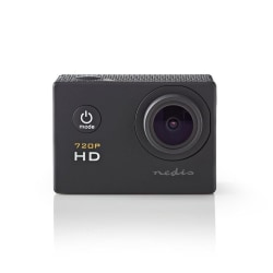 Nedis HD Action Kamera 720p, Svart Svart
