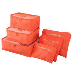 Organiseringsset för Resväskor - Orange Orange