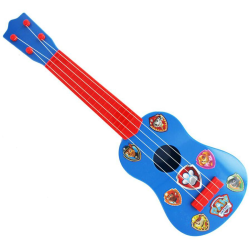 Paw Patrol - Toy Guitar Blå