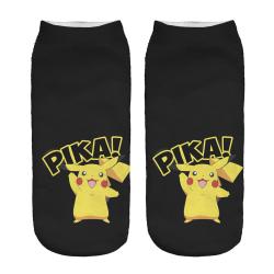 Pokémon Ankelstrumpor Nr. 2 Svart one size