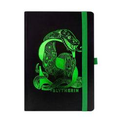 Premium A5 Anteckningsbok - Harry Potter, Slytherin Svart