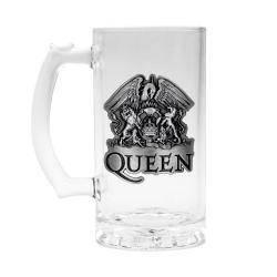 Queen, Ölglas - Crest Transparent