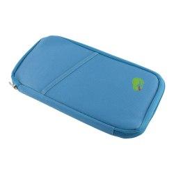 Reseplånbok / Passhållare - Blå Blå