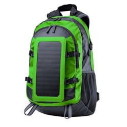 Ryggsäck med Solcellsladdare - Grön Grön
