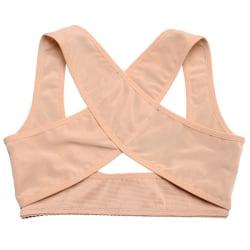 Ryggstöd / Posture Support för kvinnor - Nude Beige one size