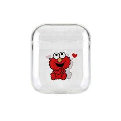 Skyddsfodral till AirPods - Elmo Transparent