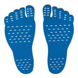 Stick-on Sula - Blå Blue L