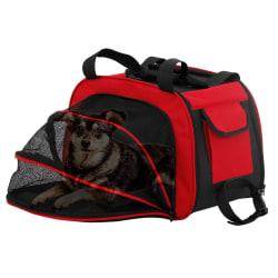 Transportväska för Hund Röd
