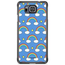 Bjornberry Skal Samsung Galaxy Alpha - Regnbågar