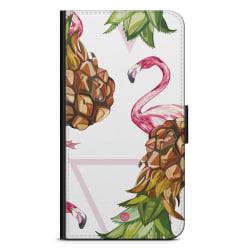 Bjornberry Fodral Huawei Mate 10 Pro - Ananas & Flamingo
