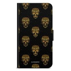 Bjornberry Fodral Huawei Mate 10 Pro - Gold Skulls