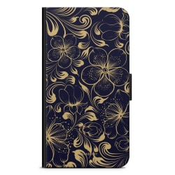 Bjornberry Fodral Huawei Mate 10 Pro - Mörkblå Blommor