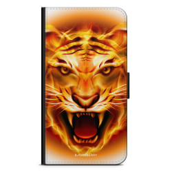 Bjornberry Fodral Sony Xperia XZ Premium - Flames Tiger