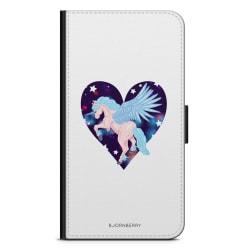 Bjornberry Plånboksfodral iPhone 4/4s - Unicorn