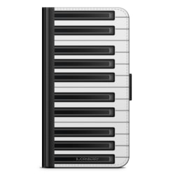 Bjornberry Plånboksfodral Nokia 7 Plus - Piano