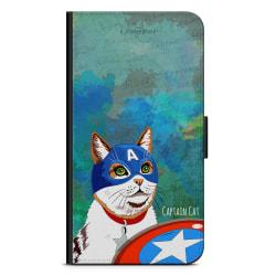 Bjornberry Plånboksfodral Sony Xperia 1 - Kapten Katt