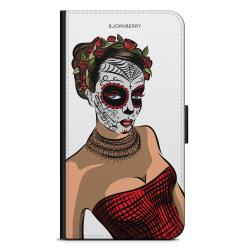 Bjornberry Plånboksfodral Sony Xperia 5 - Döskalle Mask