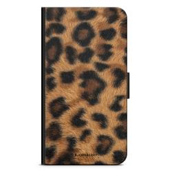 Bjornberry Plånboksfodral Sony Xperia 5 - Leopard