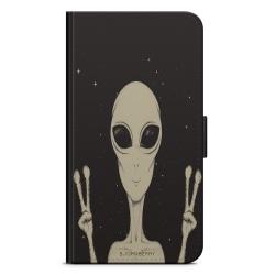Bjornberry Plånboksfodral Sony Xperia X - Peace Alien