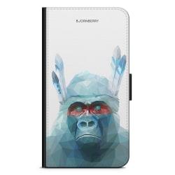 Bjornberry Plånboksfodral Sony Xperia Z5 - Färgglad Gorilla