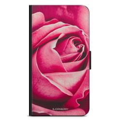 Bjornberry Plånboksfodral Sony Xperia Z5 - Röd Ros