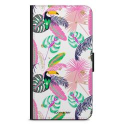 Bjornberry Plånboksfodral Sony Xperia Z5 - Tropical Pattern